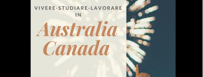 Consulenza Australia e Canada